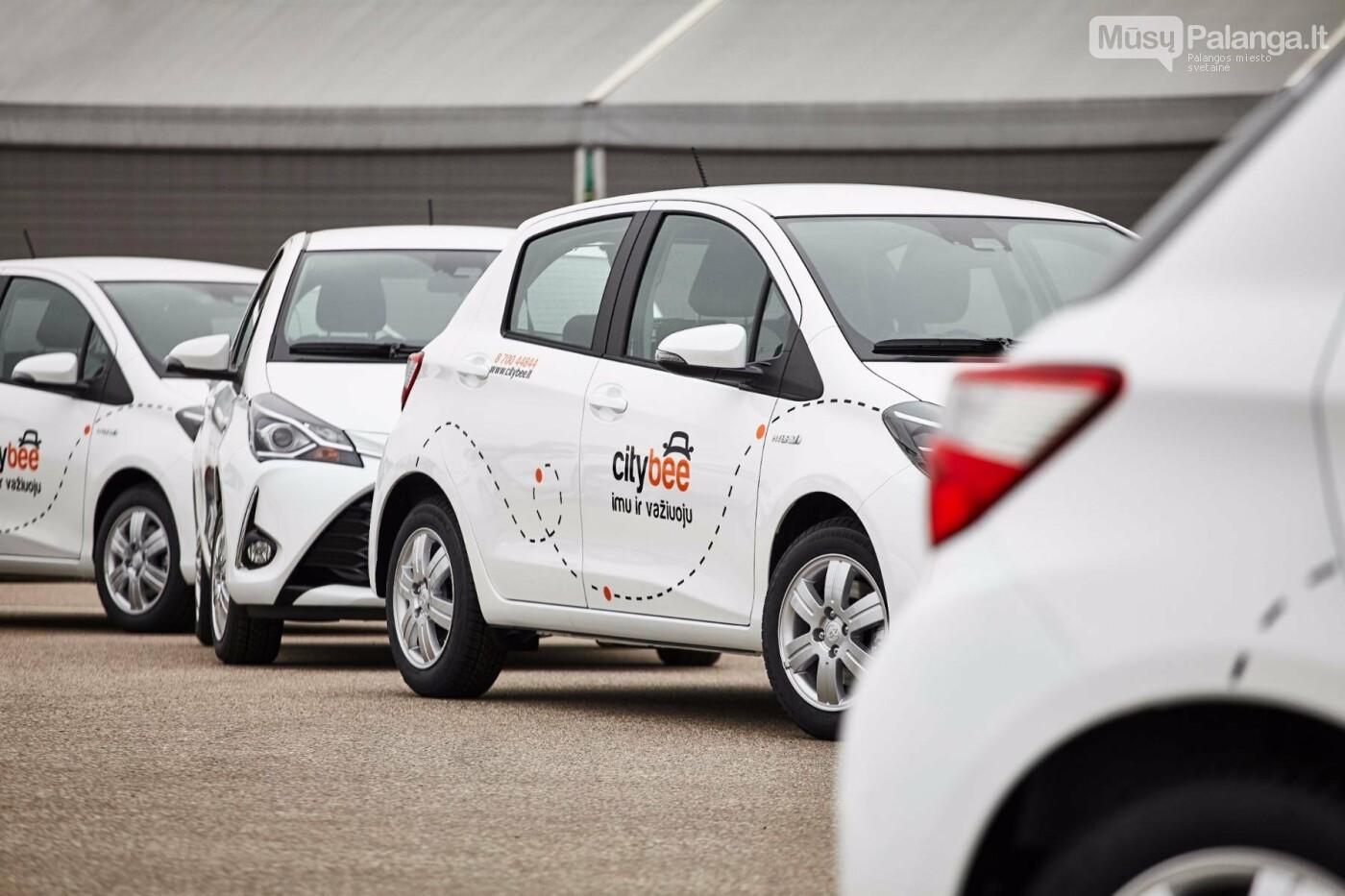 """Džiaugsmas vairuotojams ir aplinkai: """"CityBee"""" savo automobilių parką papildė naujais hibridais , nuotrauka-4"""