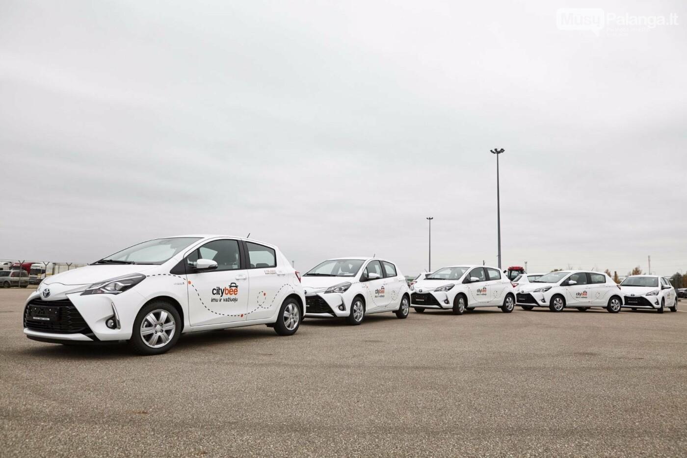 """Džiaugsmas vairuotojams ir aplinkai: """"CityBee"""" savo automobilių parką papildė naujais hibridais , nuotrauka-2"""