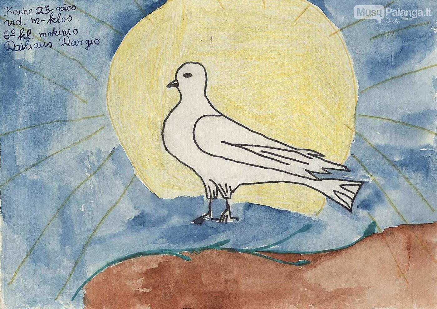 Sausio 13-oji vaikų piešiniuose - atrask savo piešinį, nuotrauka-2