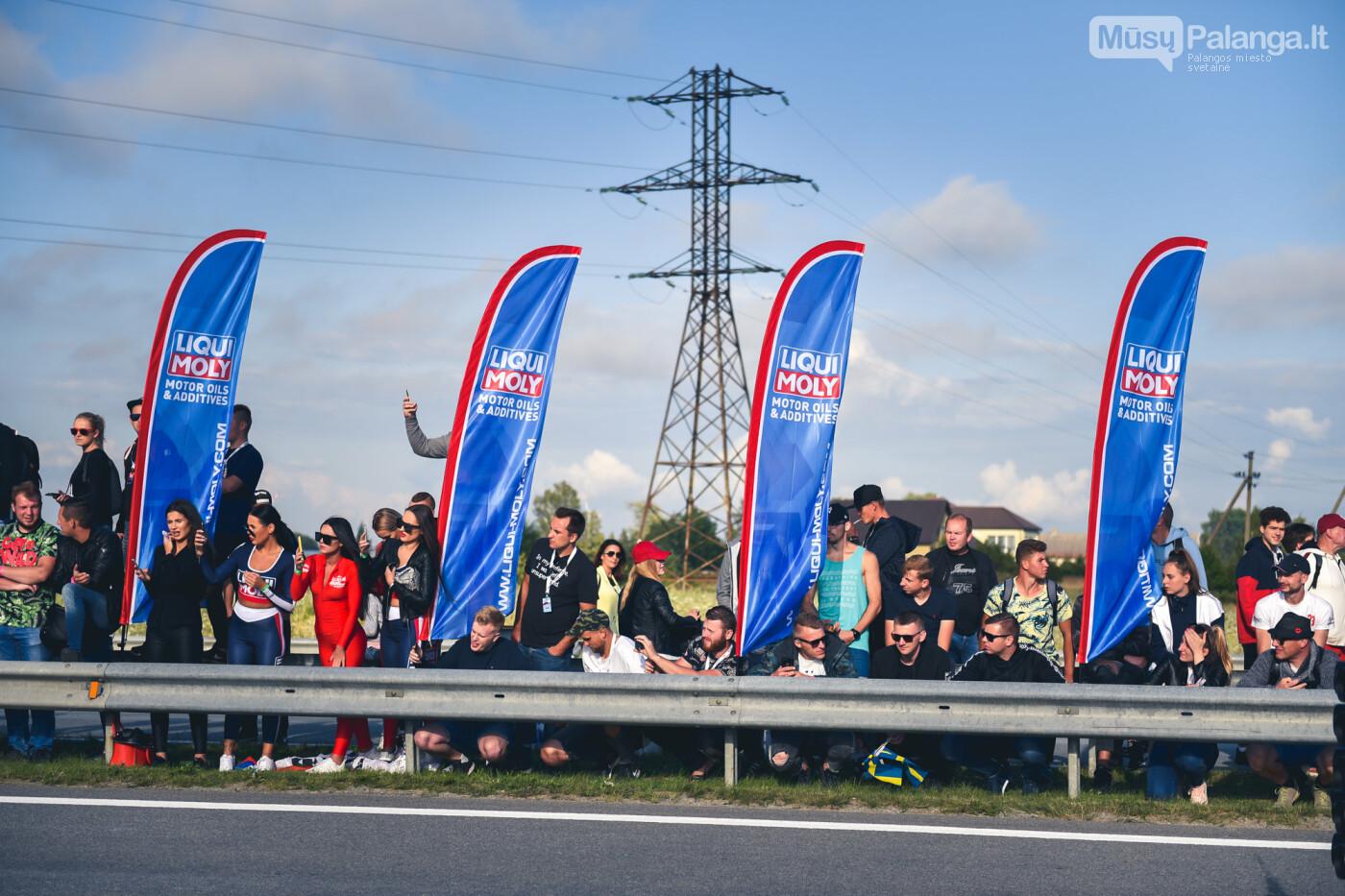 """Traukos lenktynėse Palangoje greičiausi – """"Nissan GT-R"""" automobiliai, nuotrauka-12"""