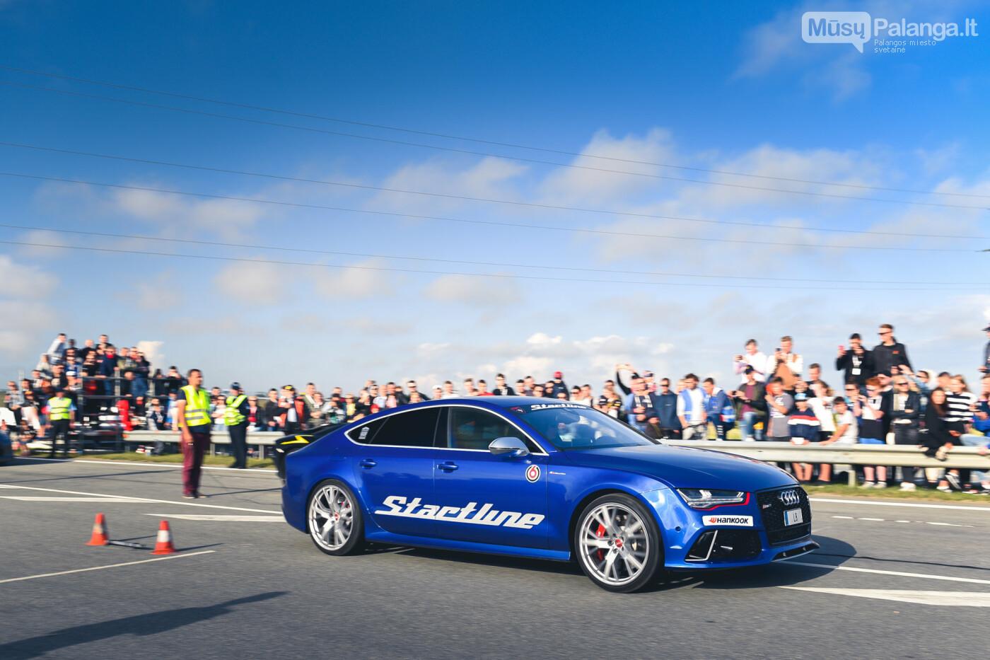 """Traukos lenktynėse Palangoje greičiausi – """"Nissan GT-R"""" automobiliai, nuotrauka-13"""