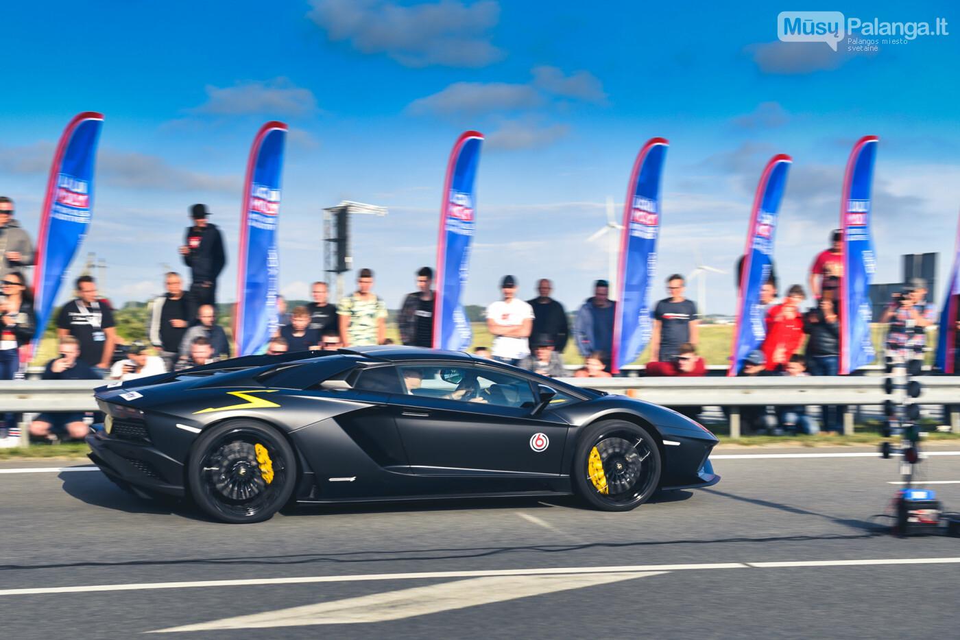 """Traukos lenktynėse Palangoje greičiausi – """"Nissan GT-R"""" automobiliai, nuotrauka-14"""
