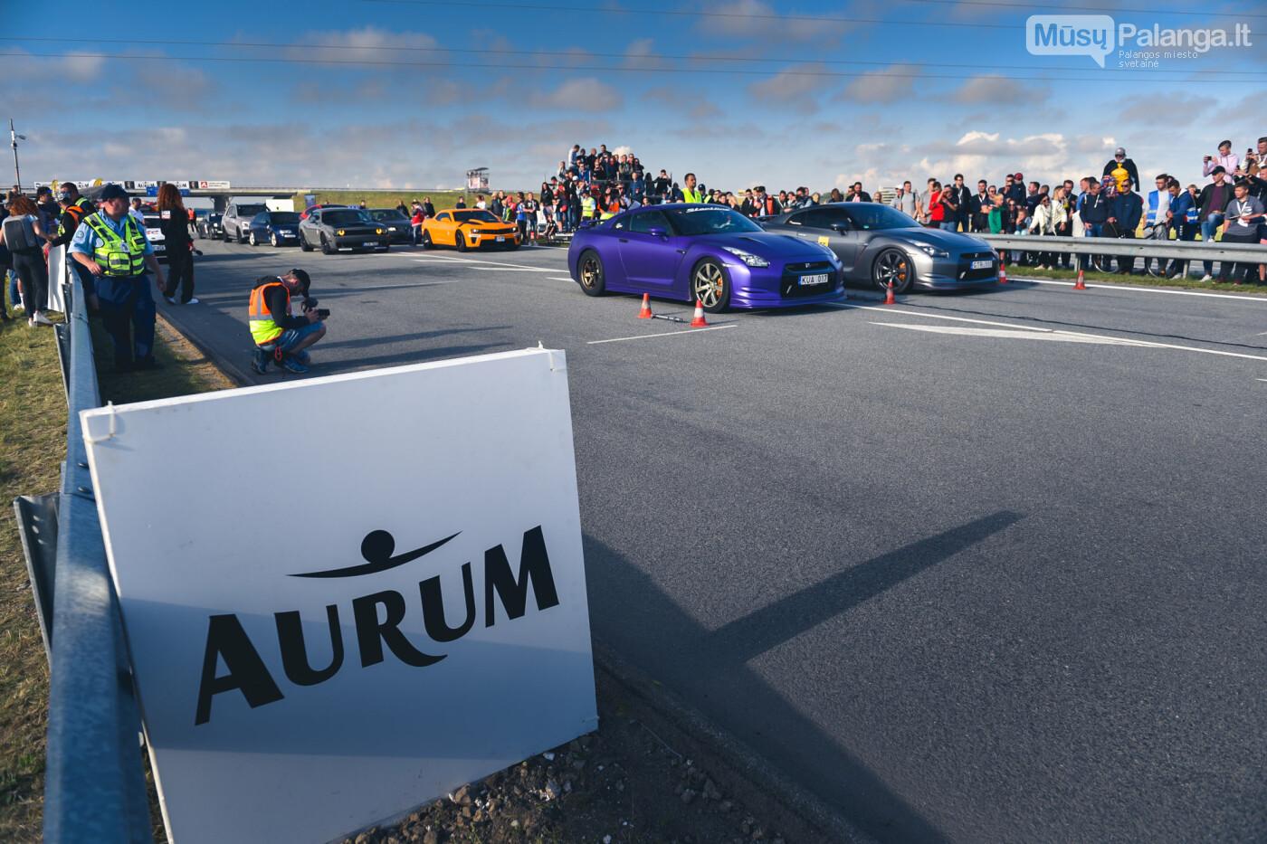 """Traukos lenktynėse Palangoje greičiausi – """"Nissan GT-R"""" automobiliai, nuotrauka-15"""