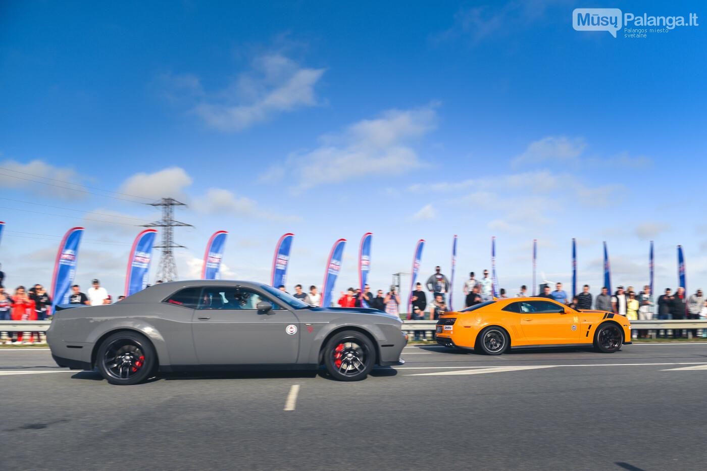 """Traukos lenktynėse Palangoje greičiausi – """"Nissan GT-R"""" automobiliai, nuotrauka-16"""
