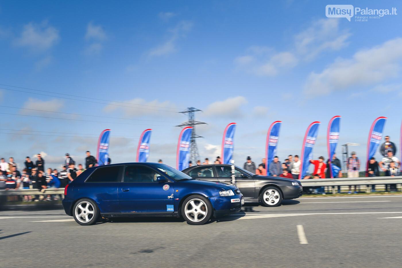 """Traukos lenktynėse Palangoje greičiausi – """"Nissan GT-R"""" automobiliai, nuotrauka-17"""