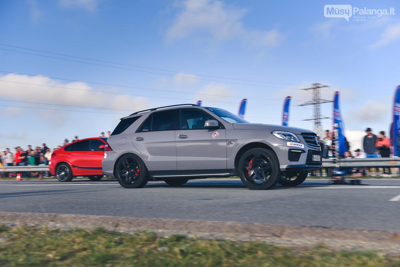 """Traukos lenktynėse Palangoje greičiausi – """"Nissan GT-R"""" automobiliai, nuotrauka-18"""