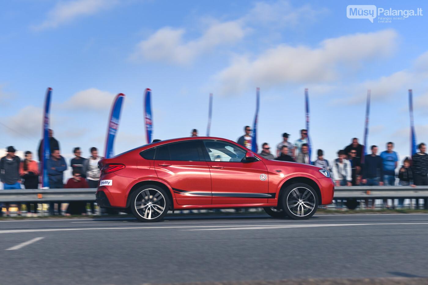 """Traukos lenktynėse Palangoje greičiausi – """"Nissan GT-R"""" automobiliai, nuotrauka-19"""