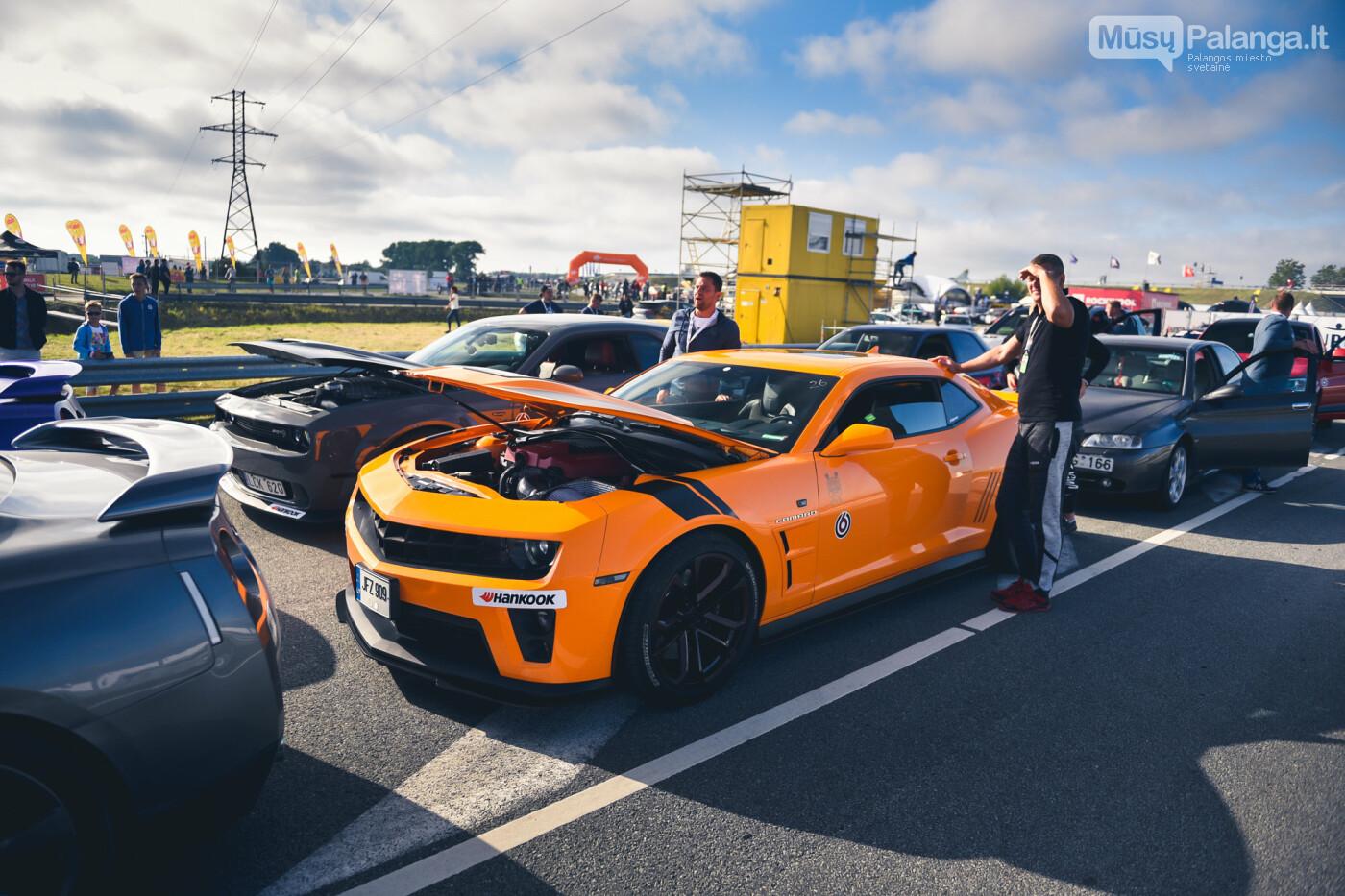 """Traukos lenktynėse Palangoje greičiausi – """"Nissan GT-R"""" automobiliai, nuotrauka-1"""