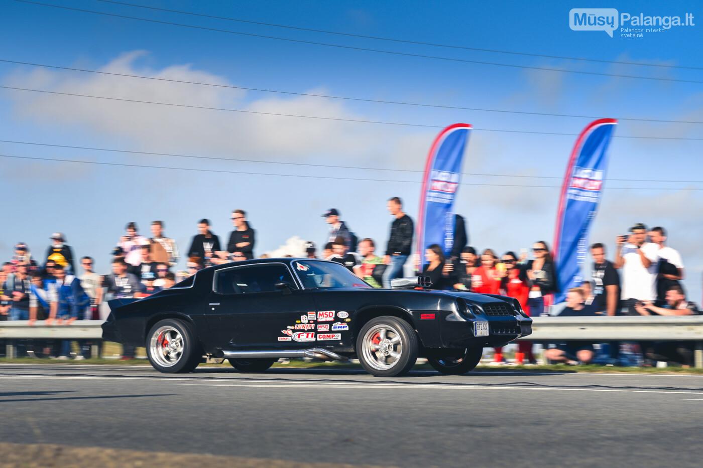 """Traukos lenktynėse Palangoje greičiausi – """"Nissan GT-R"""" automobiliai, nuotrauka-20"""