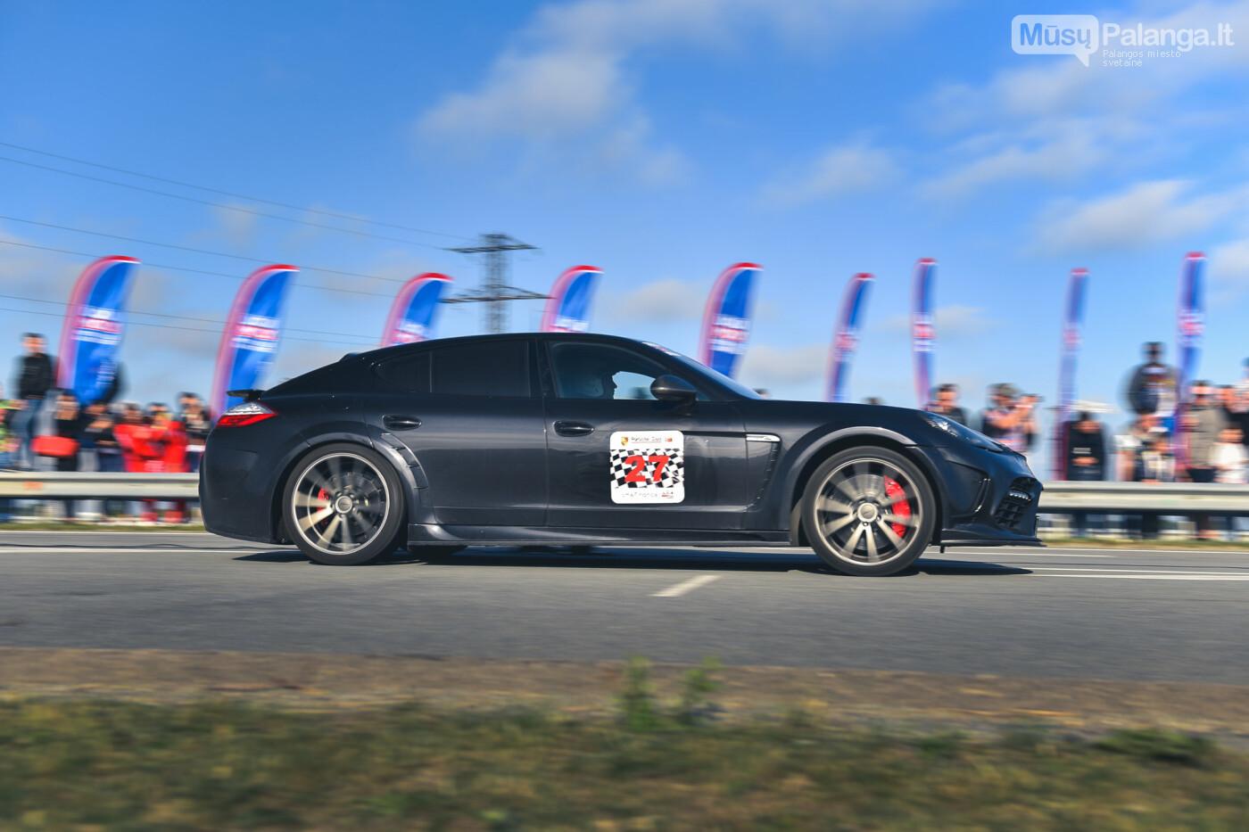 """Traukos lenktynėse Palangoje greičiausi – """"Nissan GT-R"""" automobiliai, nuotrauka-21"""