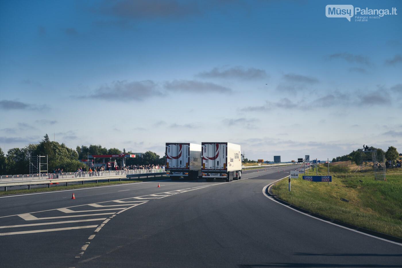 """Traukos lenktynėse Palangoje greičiausi – """"Nissan GT-R"""" automobiliai, nuotrauka-24"""