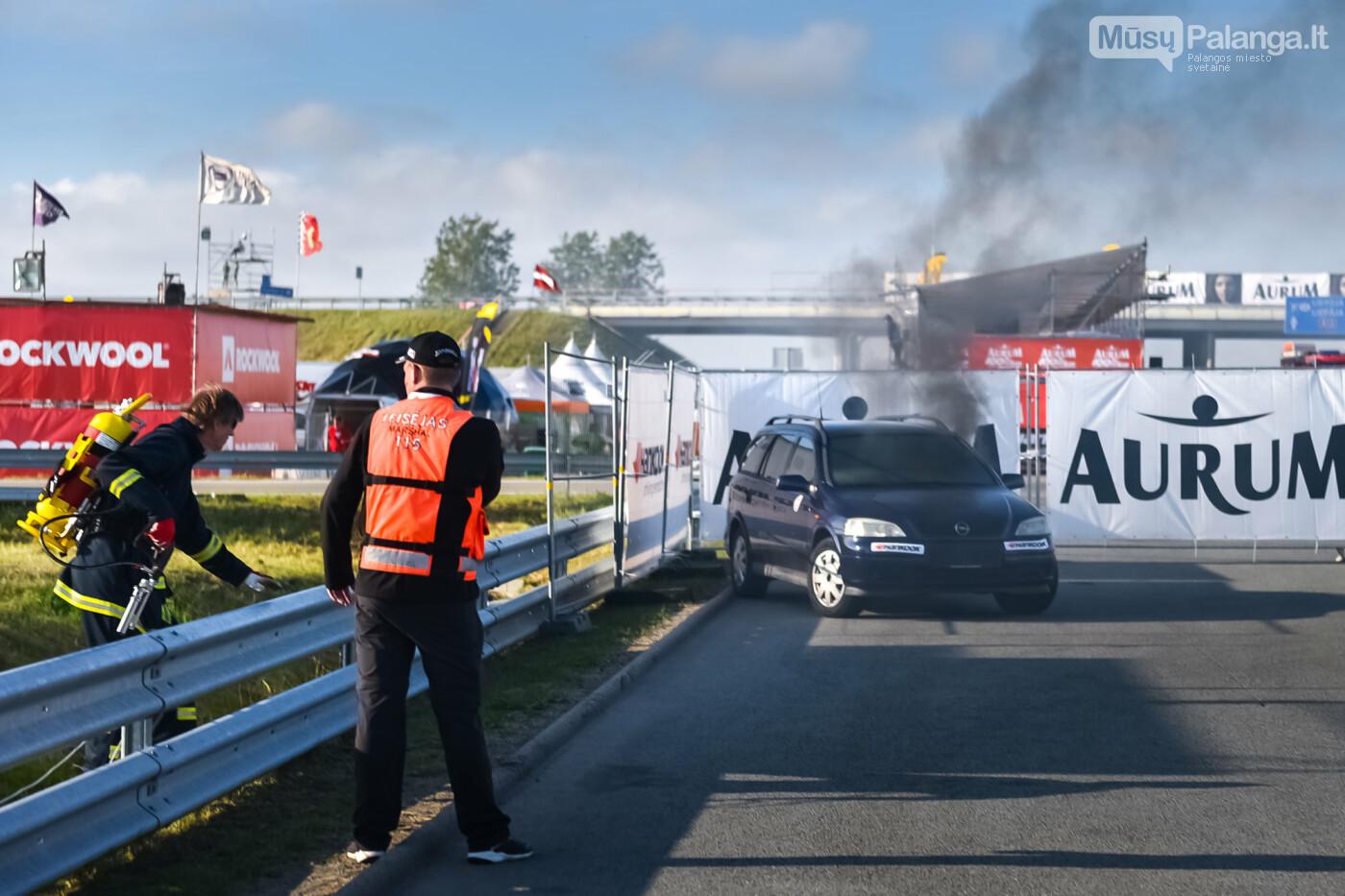 """Traukos lenktynėse Palangoje greičiausi – """"Nissan GT-R"""" automobiliai, nuotrauka-25"""