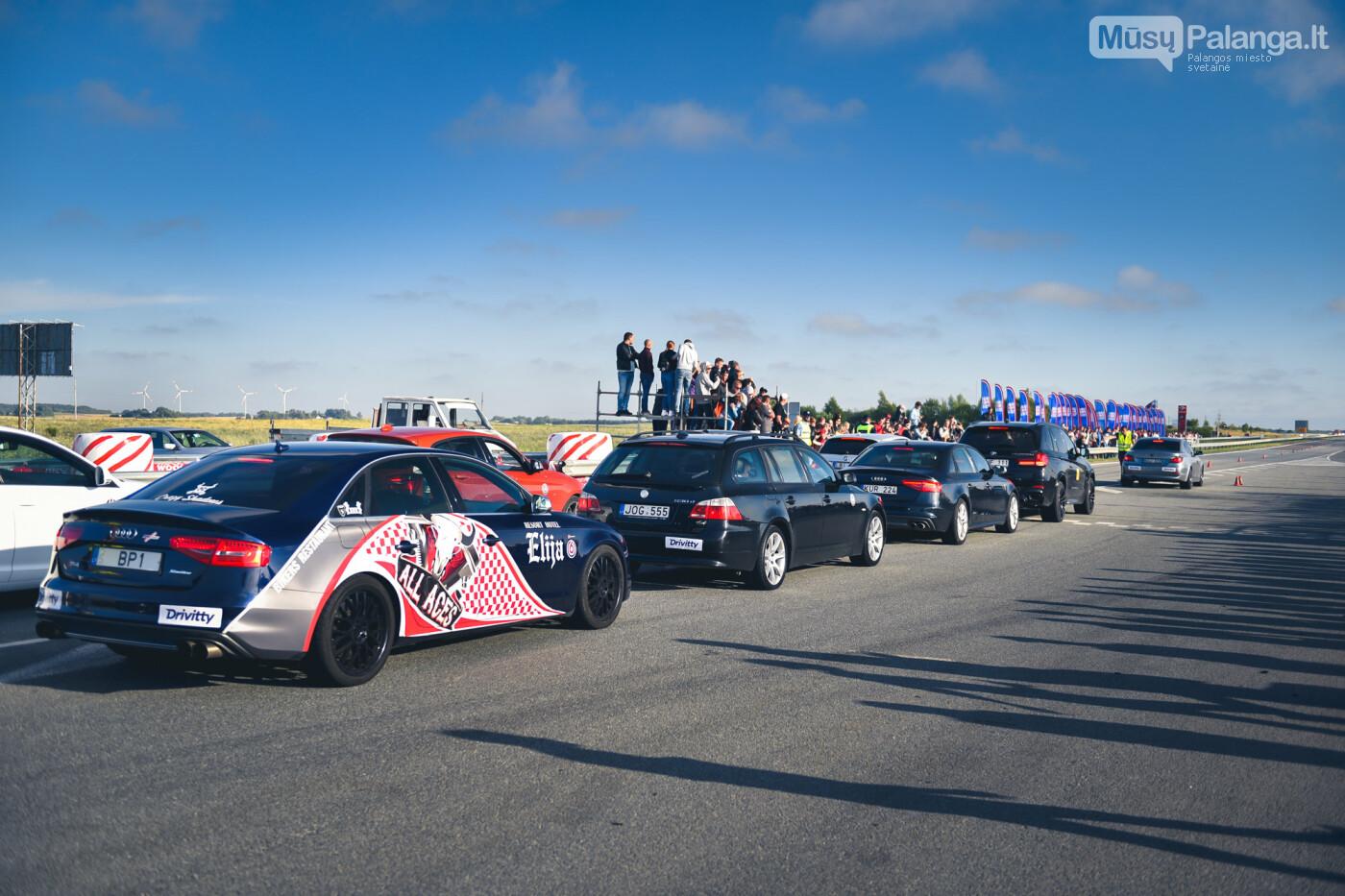 """Traukos lenktynėse Palangoje greičiausi – """"Nissan GT-R"""" automobiliai, nuotrauka-29"""