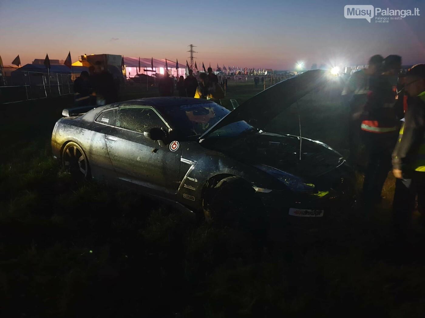 """Traukos lenktynėse Palangoje greičiausi – """"Nissan GT-R"""" automobiliai, nuotrauka-30"""