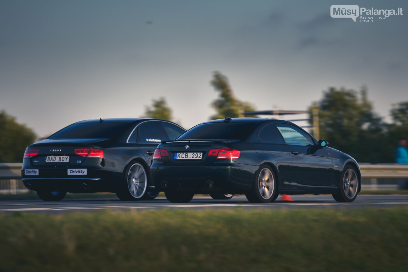 """Traukos lenktynėse Palangoje greičiausi – """"Nissan GT-R"""" automobiliai, nuotrauka-36"""