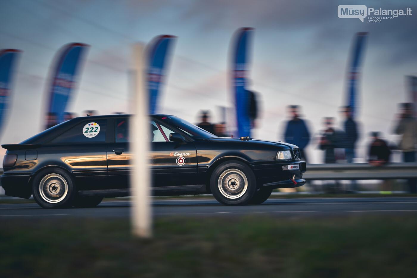 """Traukos lenktynėse Palangoje greičiausi – """"Nissan GT-R"""" automobiliai, nuotrauka-37"""
