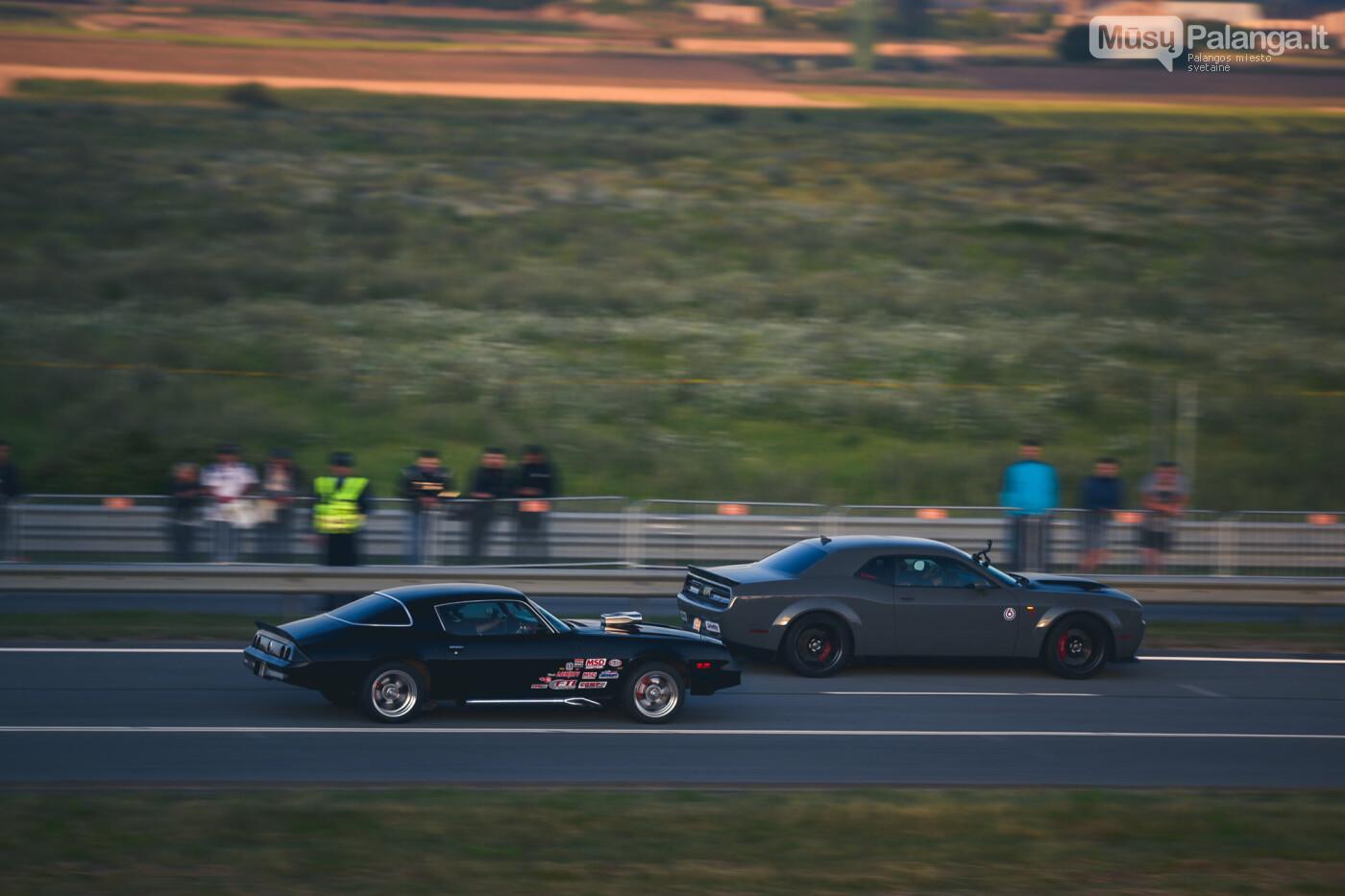 """Traukos lenktynėse Palangoje greičiausi – """"Nissan GT-R"""" automobiliai, nuotrauka-38"""
