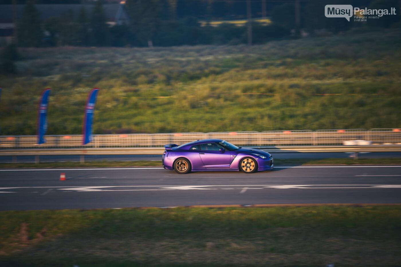"""Traukos lenktynėse Palangoje greičiausi – """"Nissan GT-R"""" automobiliai, nuotrauka-39"""