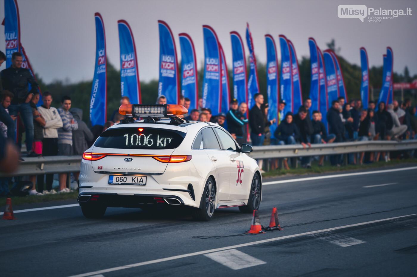 """Traukos lenktynėse Palangoje greičiausi – """"Nissan GT-R"""" automobiliai, nuotrauka-40"""