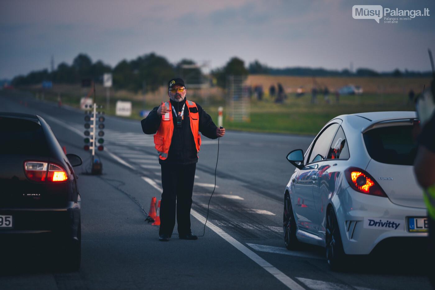 """Traukos lenktynėse Palangoje greičiausi – """"Nissan GT-R"""" automobiliai, nuotrauka-41"""