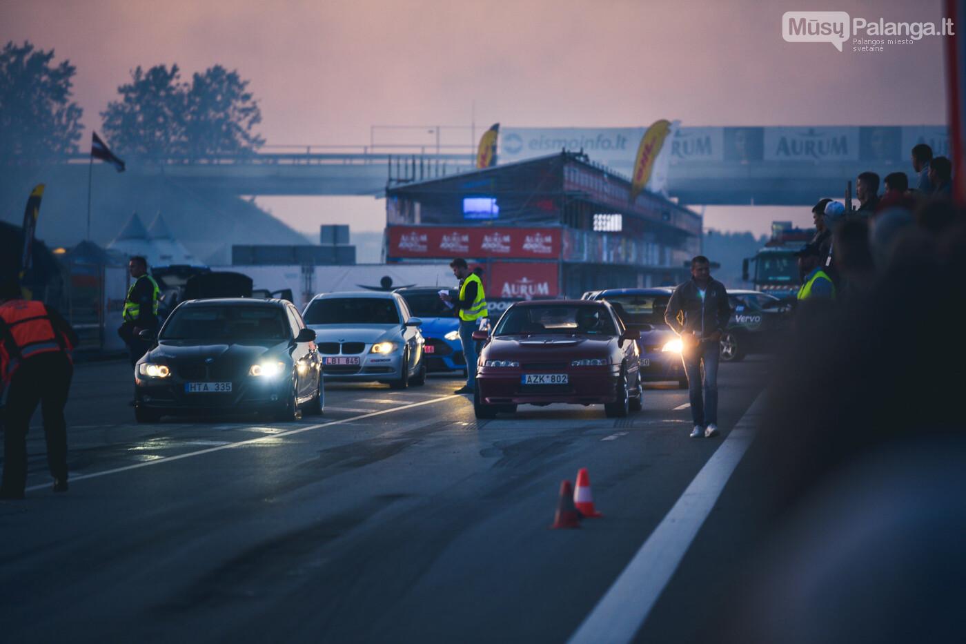 """Traukos lenktynėse Palangoje greičiausi – """"Nissan GT-R"""" automobiliai, nuotrauka-43"""
