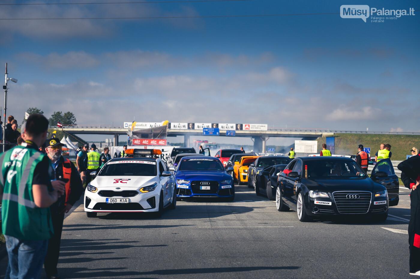 """Traukos lenktynėse Palangoje greičiausi – """"Nissan GT-R"""" automobiliai, nuotrauka-47"""