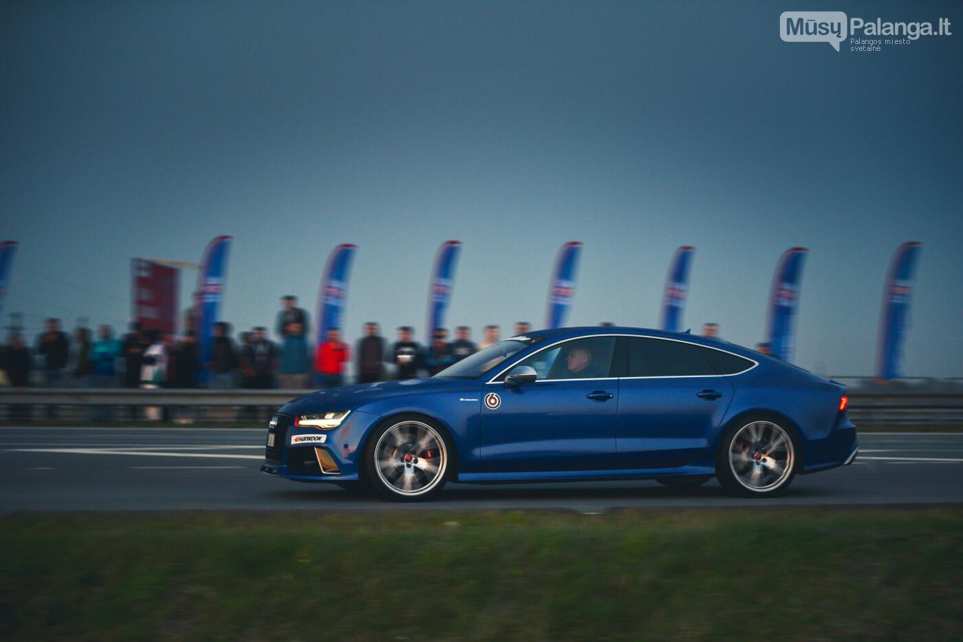 """Traukos lenktynėse Palangoje greičiausi – """"Nissan GT-R"""" automobiliai, nuotrauka-49"""