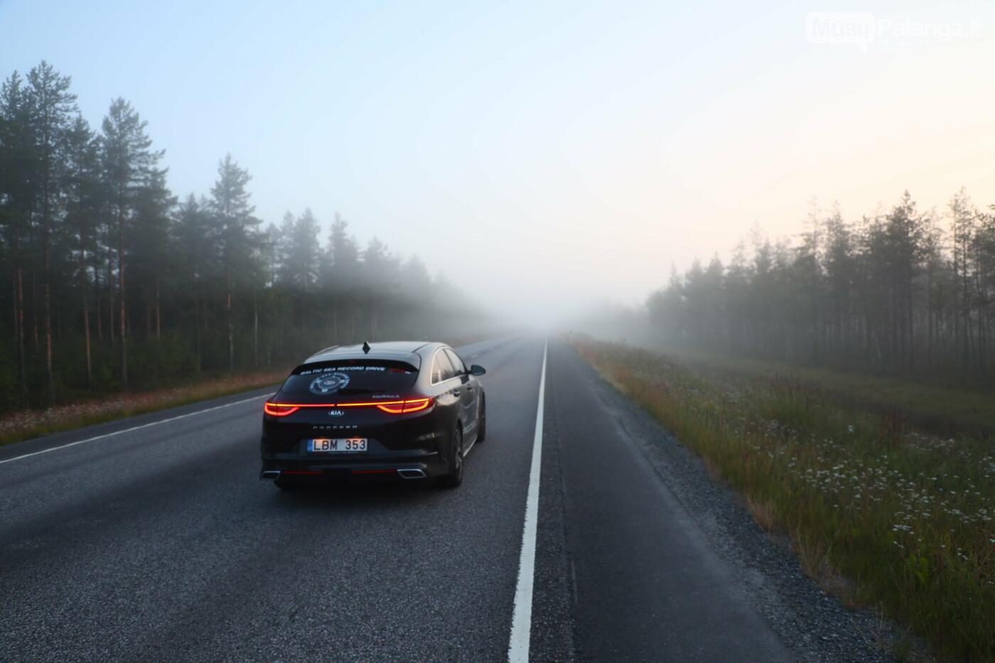 Aplink Baltijos jūrą apvažiavo per 2 paras, nuotrauka-6