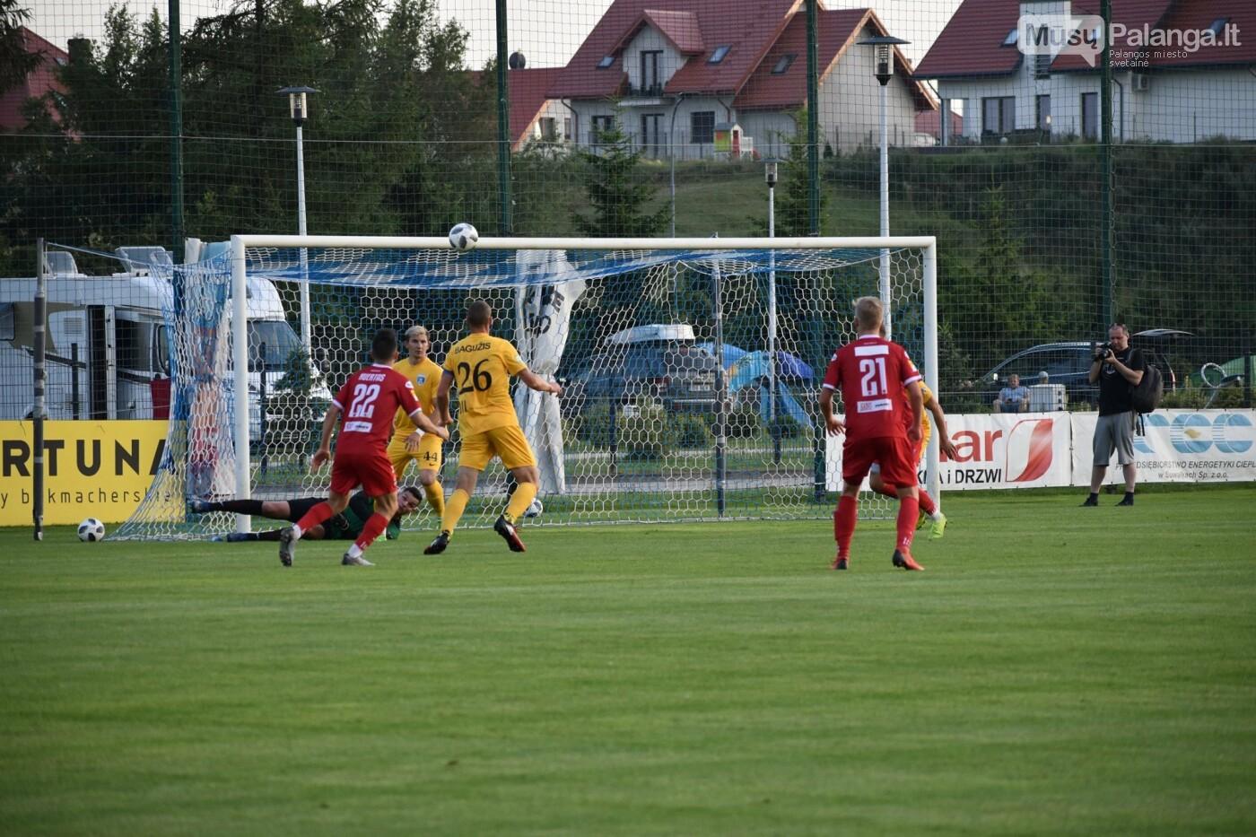 Kontrolinėse rungtynėse Lenkijoje – būrys peržiūroje dalyvaujančių futbolininkų bei naujas treneris, nuotrauka-16