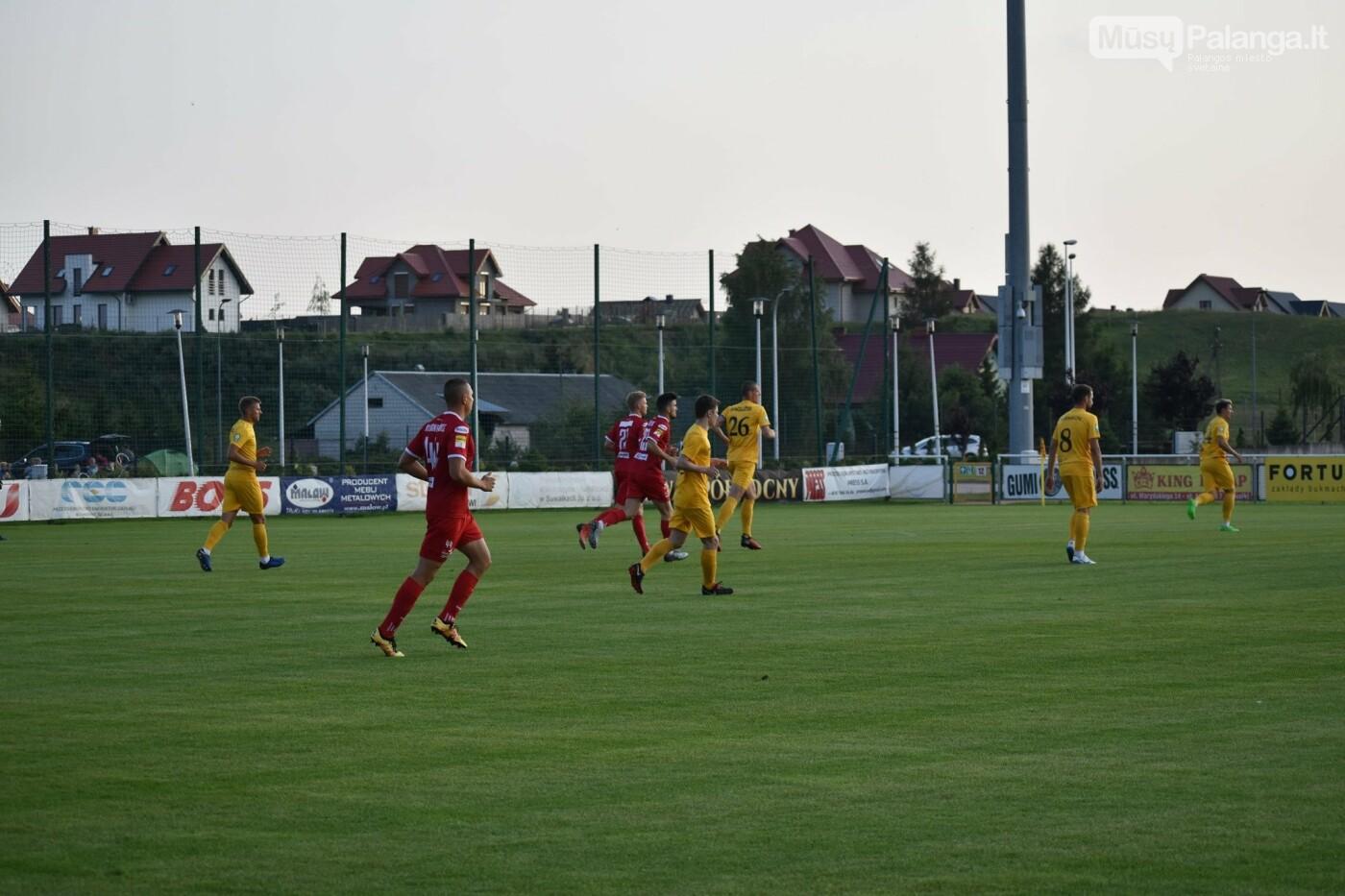 Kontrolinėse rungtynėse Lenkijoje – būrys peržiūroje dalyvaujančių futbolininkų bei naujas treneris, nuotrauka-47