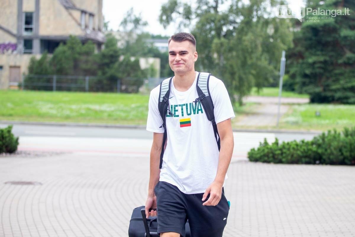 Lietuvos vyrų krepšinio rinktinė susirinko į treniruočių stovyklą Palangoje, nuotrauka-7