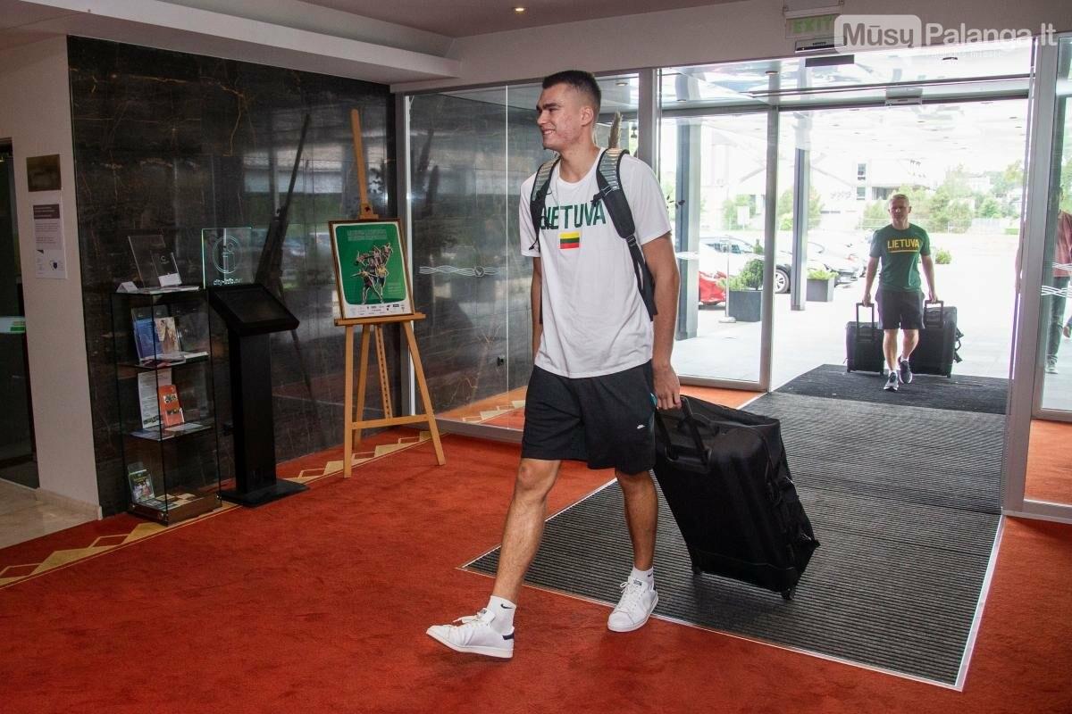Lietuvos vyrų krepšinio rinktinė susirinko į treniruočių stovyklą Palangoje, nuotrauka-8