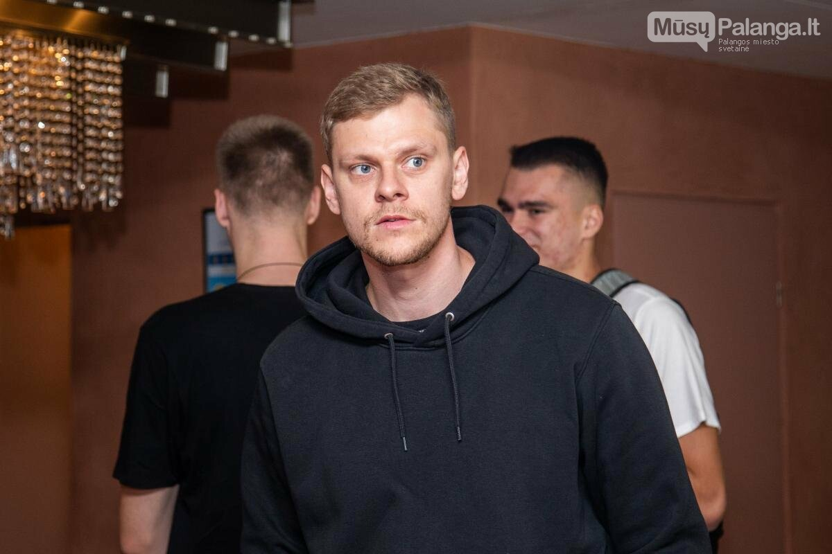 Lietuvos vyrų krepšinio rinktinė susirinko į treniruočių stovyklą Palangoje, nuotrauka-9