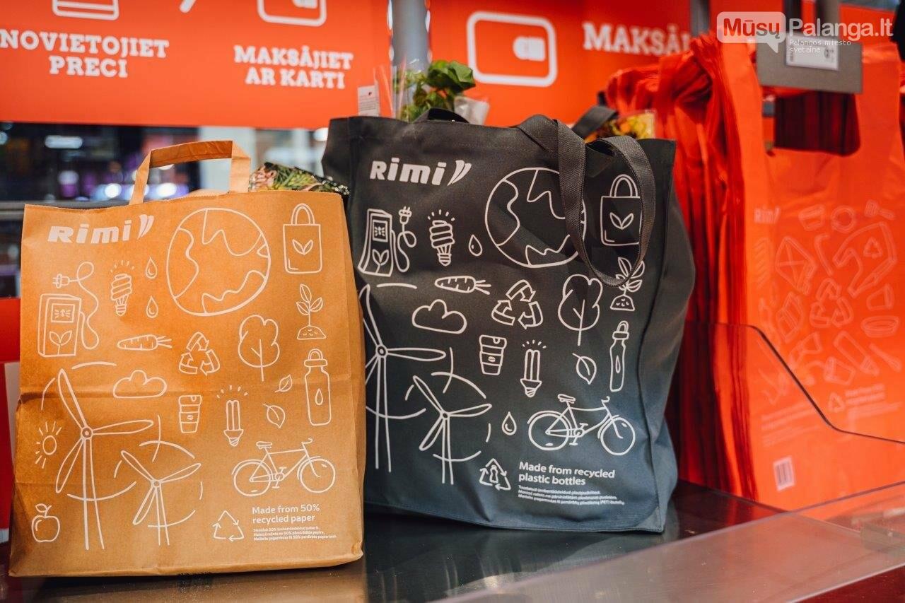 """""""Rimi"""" jungiasi prie taršos mažinimo ir atnaujina pirkinių maišelius, nuotrauka-2"""