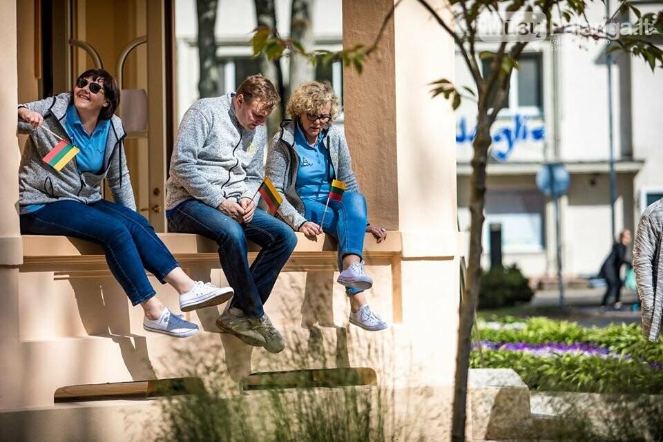 """Palangos miesto savivaldybė prisijungė prie visuotinės akcijos """"Ačiū Lietuva"""", nuotrauka-7, Nuotraukos: Aldas / F360.LT"""