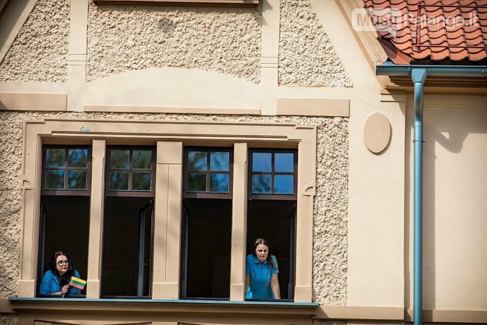 """Palangos miesto savivaldybė prisijungė prie visuotinės akcijos """"Ačiū Lietuva"""", nuotrauka-17, Nuotraukos: Aldas / F360.LT"""