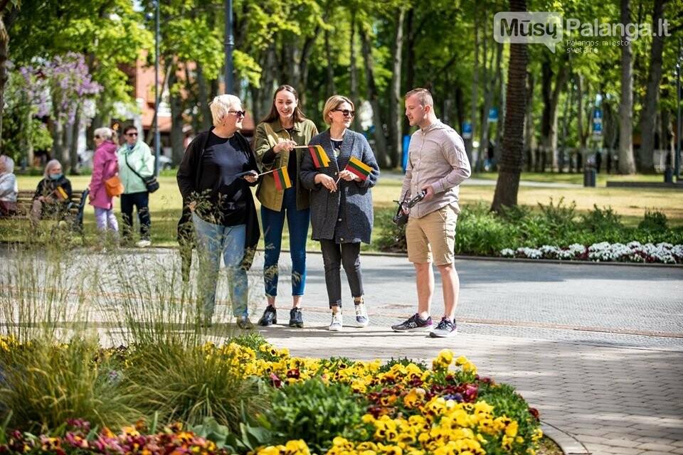 """Palangos miesto savivaldybė prisijungė prie visuotinės akcijos """"Ačiū Lietuva"""", nuotrauka-19, Nuotraukos: Aldas / F360.LT"""