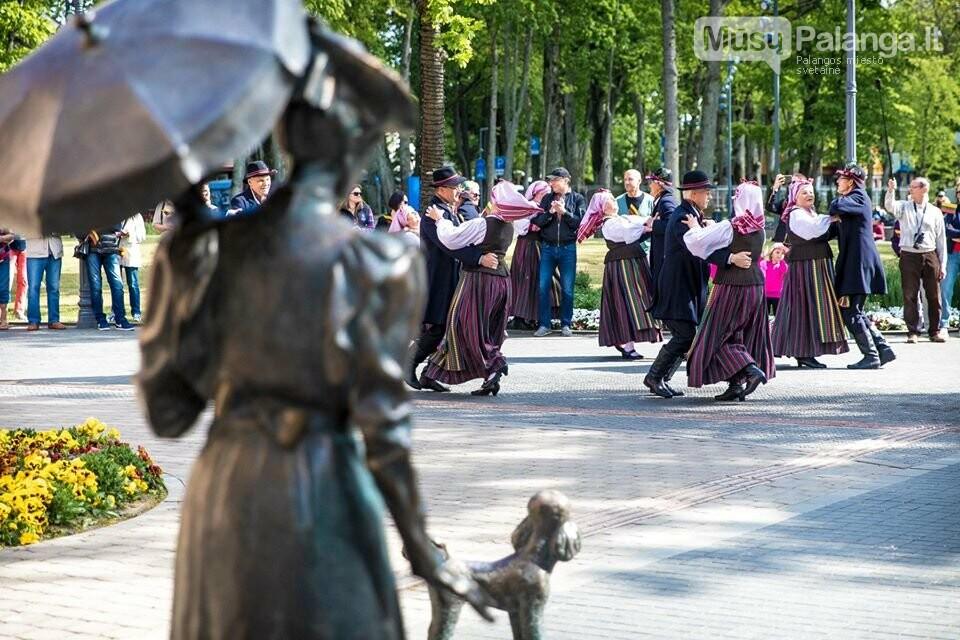 """Palangos miesto savivaldybė prisijungė prie visuotinės akcijos """"Ačiū Lietuva"""", nuotrauka-1, Nuotraukos: Aldas / F360.LT"""