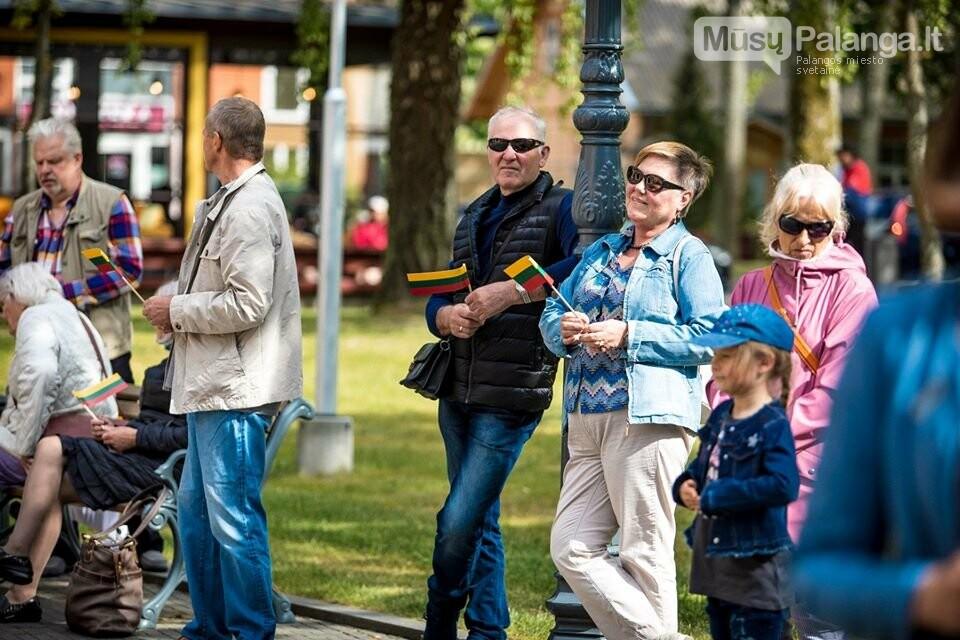 """Palangos miesto savivaldybė prisijungė prie visuotinės akcijos """"Ačiū Lietuva"""", nuotrauka-2, Nuotraukos: Aldas / F360.LT"""