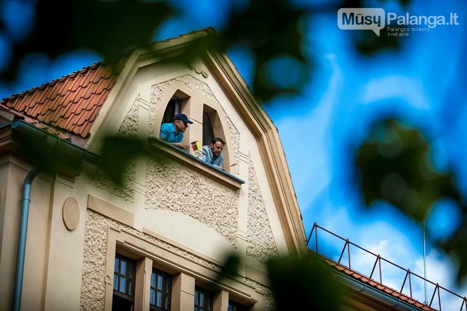 """Palangos miesto savivaldybė prisijungė prie visuotinės akcijos """"Ačiū Lietuva"""", nuotrauka-3, Nuotraukos: Aldas / F360.LT"""