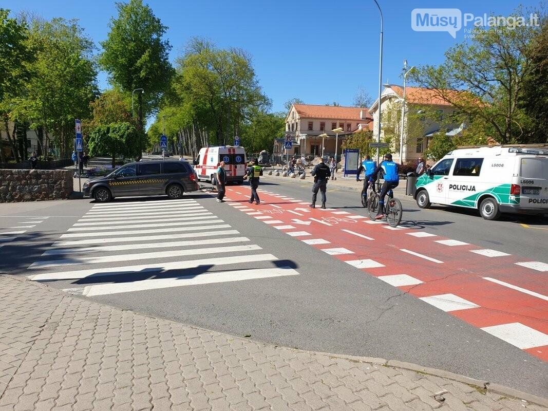 Palangoje automobilis kliudė dviratininką, nuotrauka-1, nuotr. Raimundo Maslausko