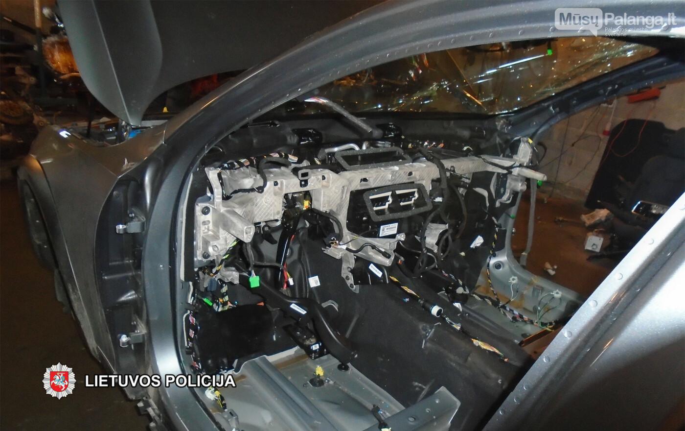 Klaipėdoje baigtas tyrimas dėl prabangaus automobilio Volvo vagystės, nuotrauka-3