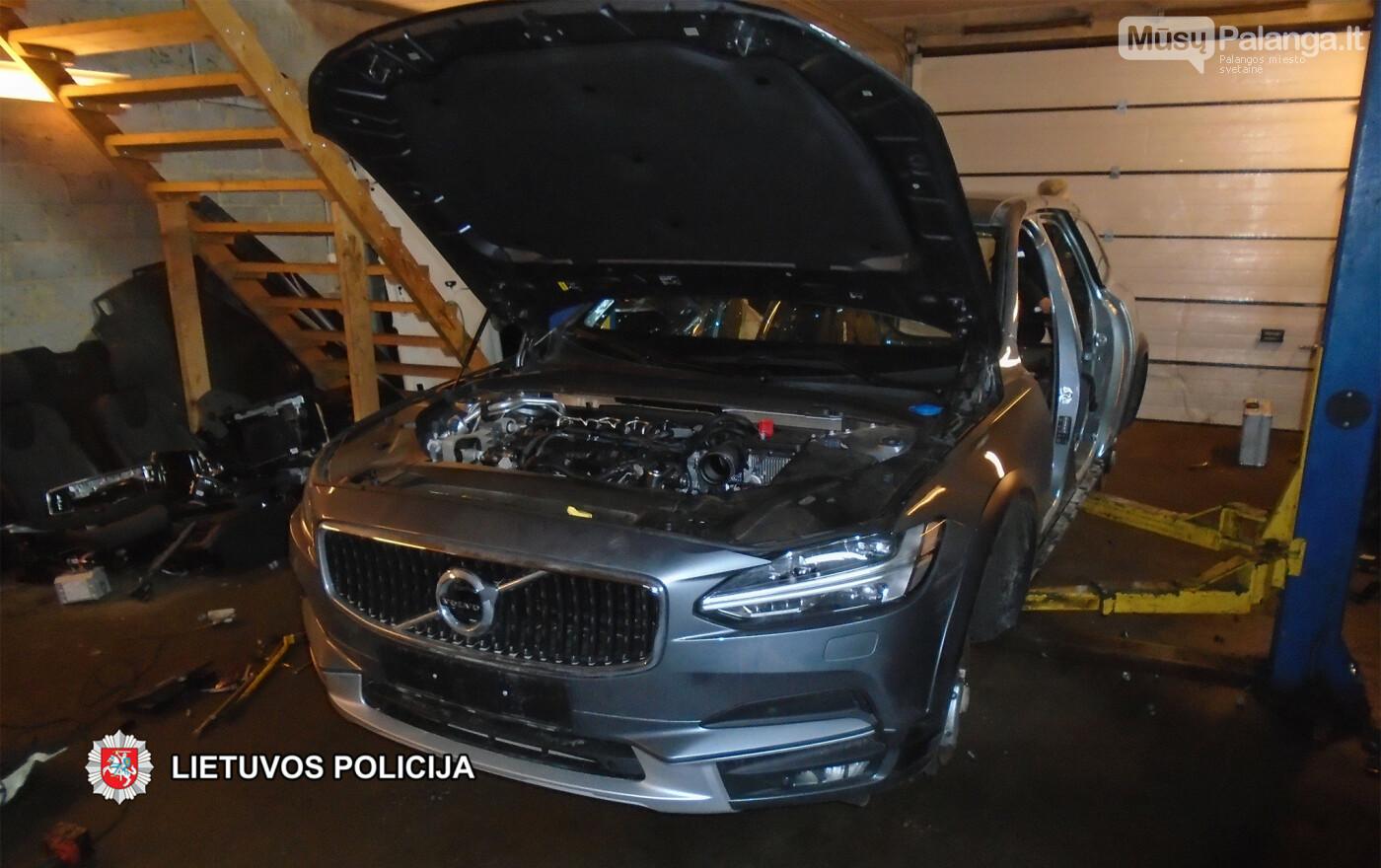 Klaipėdoje baigtas tyrimas dėl prabangaus automobilio Volvo vagystės, nuotrauka-5