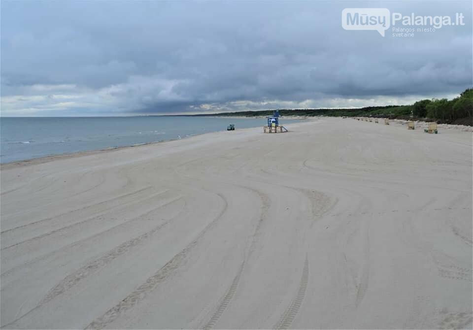 Platūs Palangos paplūdimai poilsiautojų laukia nuo ankstyvo ryto, nuotrauka-2