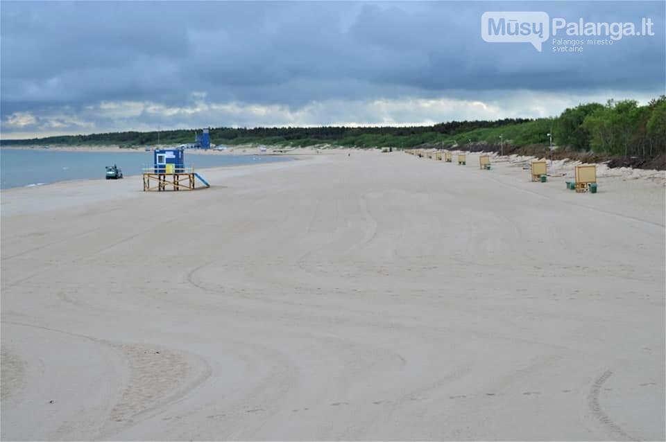Platūs Palangos paplūdimai poilsiautojų laukia nuo ankstyvo ryto, nuotrauka-3
