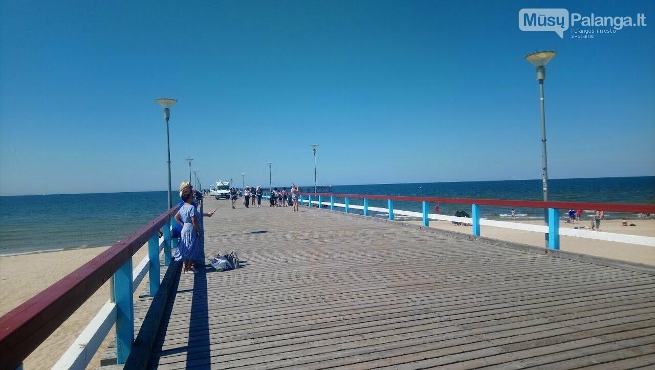 Platūs Palangos paplūdimai poilsiautojų laukia nuo ankstyvo ryto, nuotrauka-5