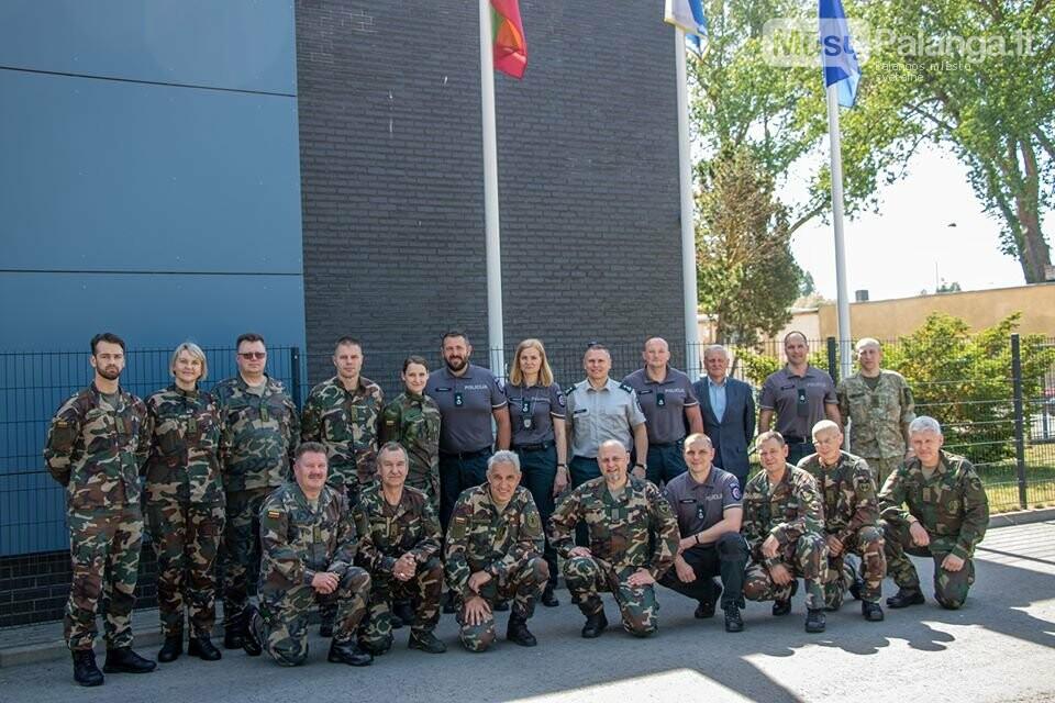 Klaipėdos apskr. VPK pareigūnai Palangoje susitiko su Šaulių sąjungos atstovais, nuotrauka-1