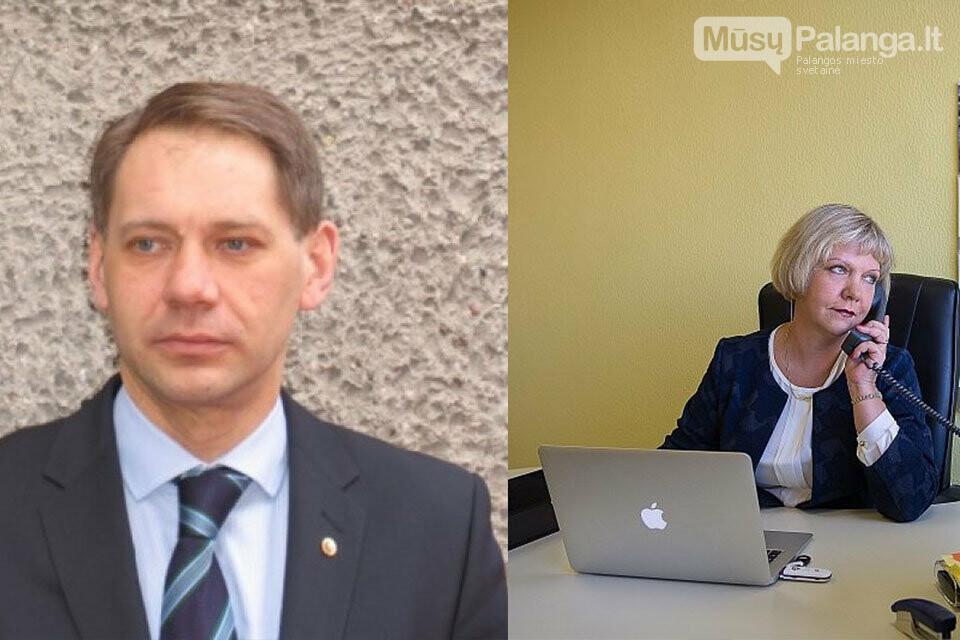 Nuotr. Giedrė Juršėnė – Palangos šilumos ūkio direktorė, o jos vyras STT viršininkas Arvydas Juršėnas (nuotr. viršuje) nuo to laiko neturi pretenzi...