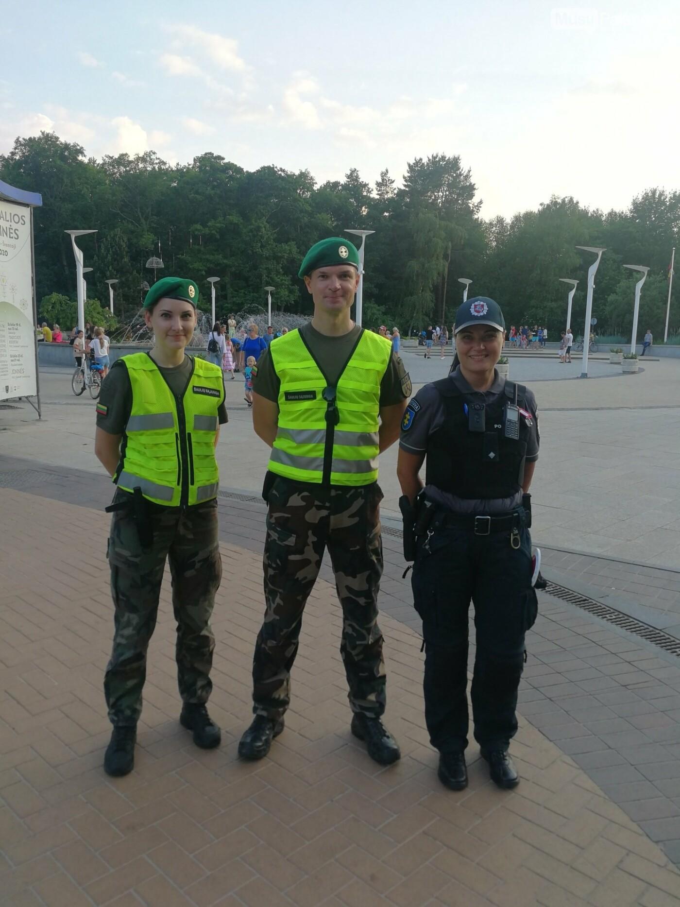 Palangoje startavo naujas šaulių paramos policijai projektas, nuotrauka-1