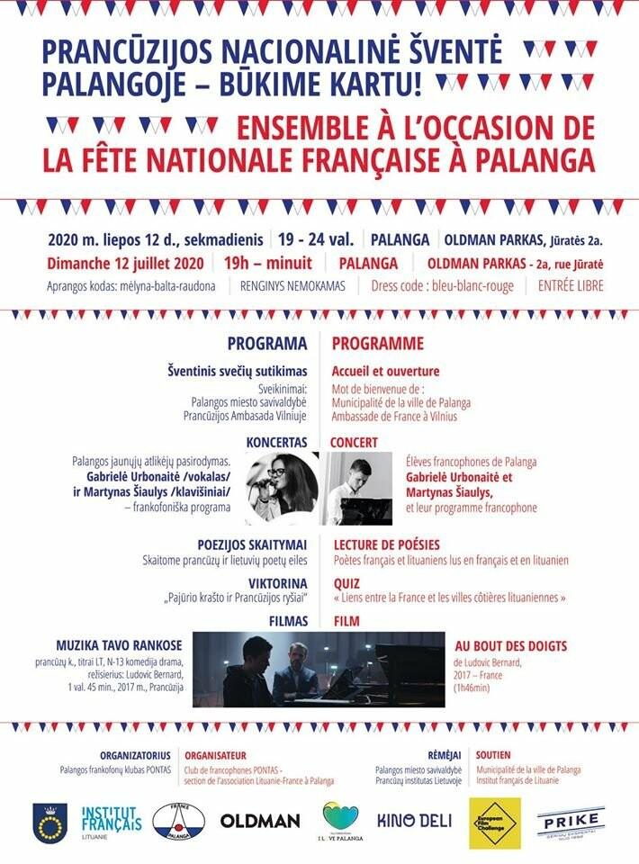 Palanga švęs Prancūzijos nacionalinę šventę, nuotrauka-1